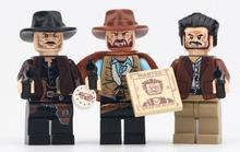 купить WM6026 Cowboy The Good The Ugly The Sad Old Fashion Movie Characters Action Figures Building Blocks Mini Toys For Children DIY по цене 65.13 рублей