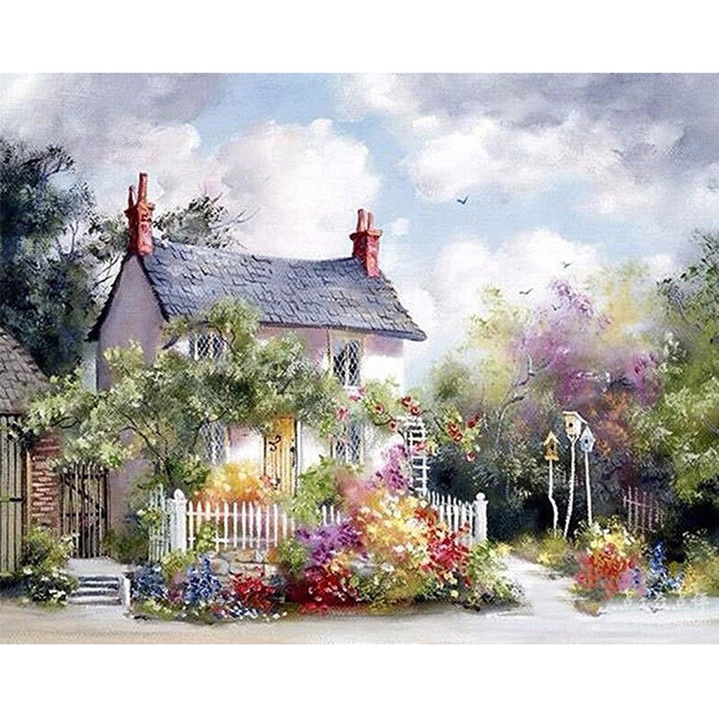 Diy Painting By Numbers Kit Coloring By Numbers Picture By Numbers Home Decors 2020 Newest Home Decorative Paintings