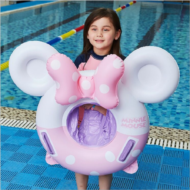 New Riding Swimming Ring Inflatable Children's Life Buoy On The Water Infant Seat Ring