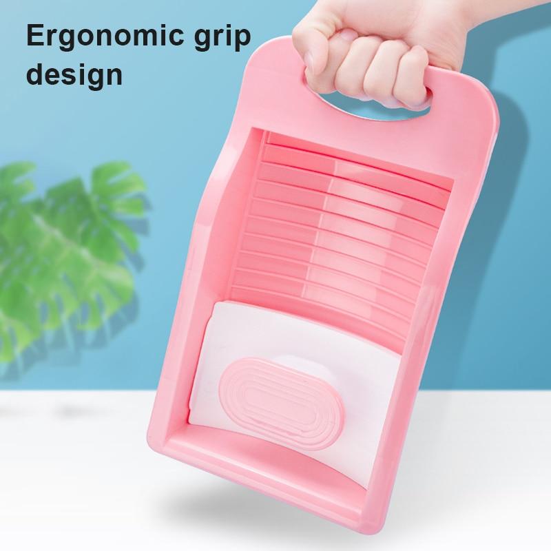 Mini portátil antiderrapante lavatório dobrável casa antiderrapante lavar roupa i88
