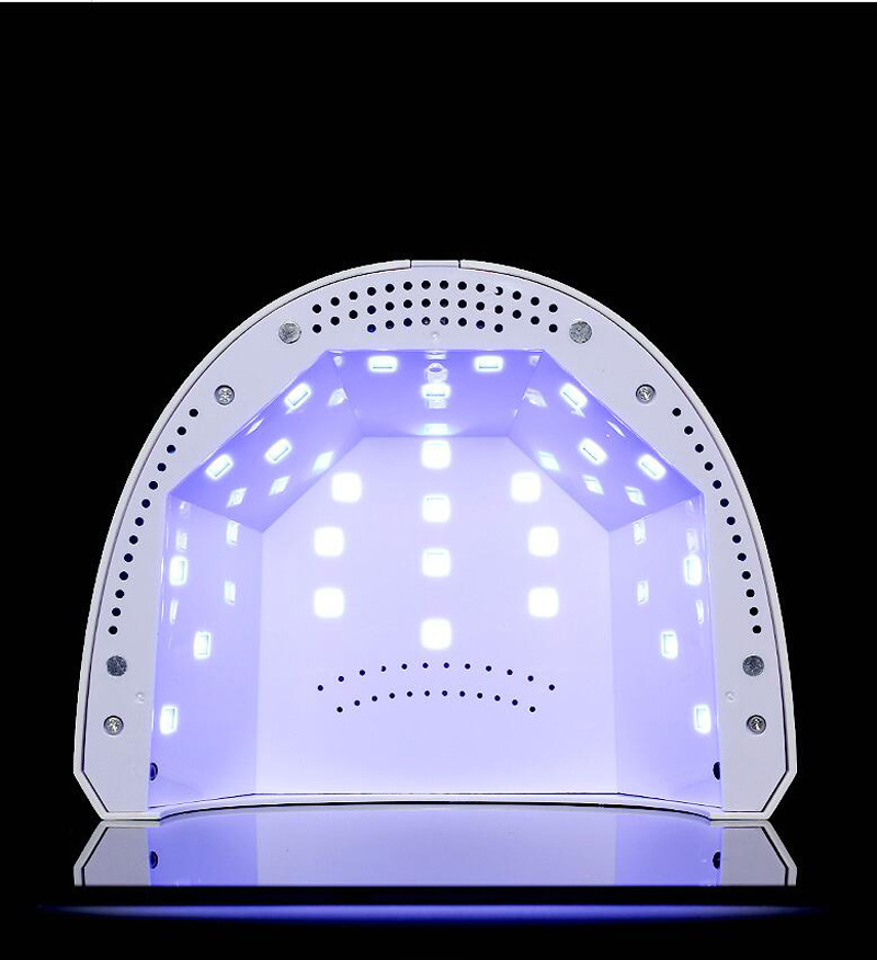 White 24w48w Led UV Nail Lamp Timer Gel Polish Curing Professional Dryer SUN ONE 24W/48W LED LAMP for gel (30pcs)
