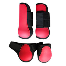 Boots Equestrian-Equipment Horse-Leg Riding Jumping Band Shell Outdoor-Training Adjustable