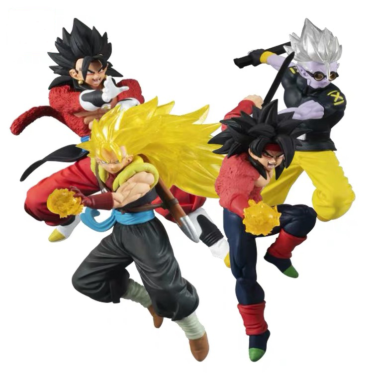 Dragon Ball Super VS Battle Figure Part 13 Gashapon Vegeta Burdock Vegetto PVC Model Figurine