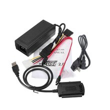 SATA/PATA/IDE Drive to USB 2.0 Adapter Converter Cable for Hard Drive Disk HDD 2.5