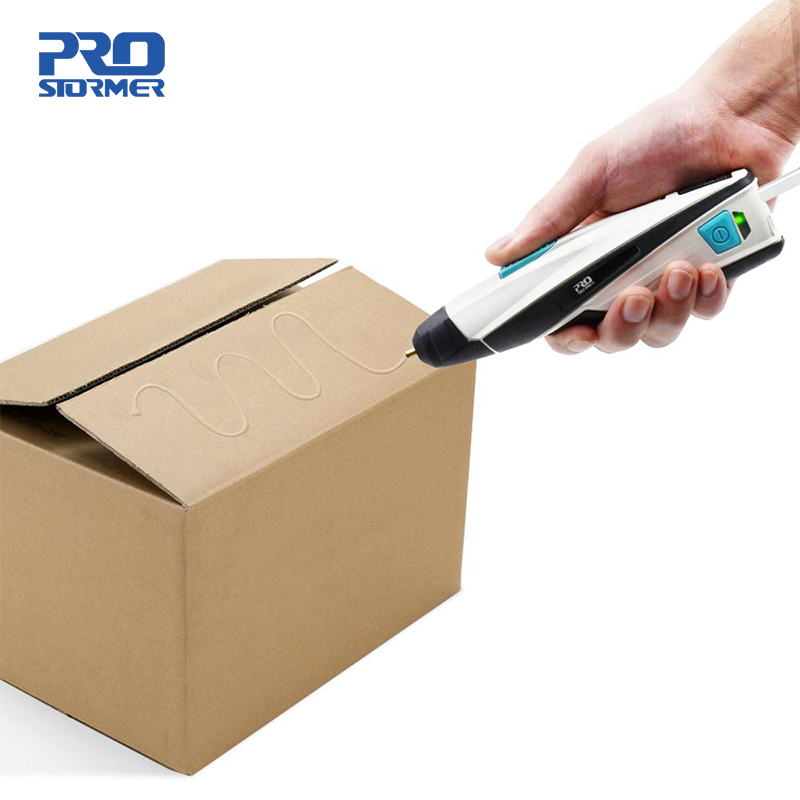 PROSTORMER 3.6V USB Cordless DIY Glue Gun Fast Heating Hot Melt Glue Gun Melting Charger Household Mini  Repair Tools