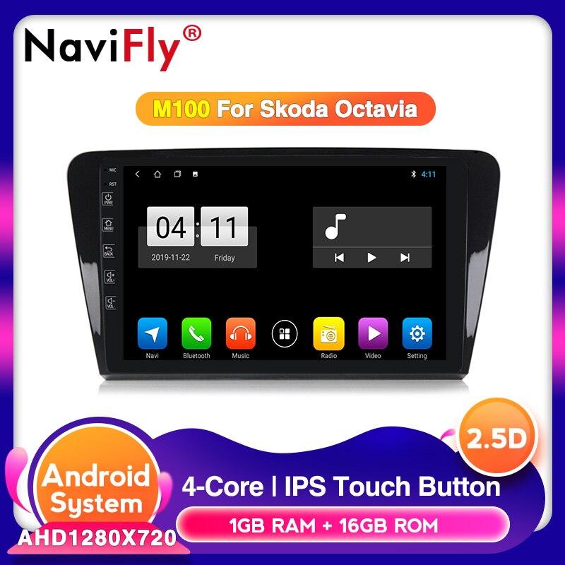 10,1 дюймов экран 2Din Восьмиядерный Android 10,0 автомобильный Радио Аудио для SKODA Octavia 3 A7 2014-2018 Автомобильный мультимедийный плеер wifi 4G LTE