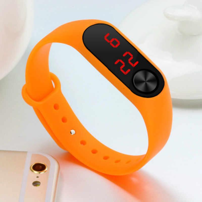 Montre électronique Simple pour femmes, anneau de main, montre de sport Led, mode, dropshipping, 2019