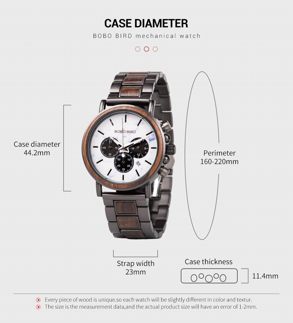 de madeira homem agulha luminosa relógios 2020