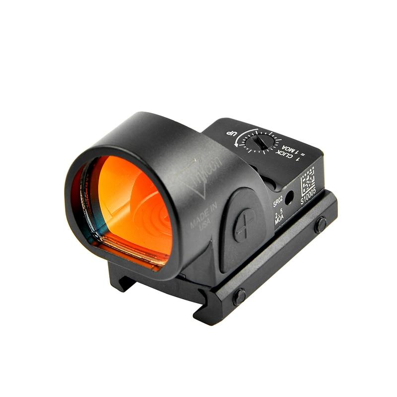 Trijicon Mini RMR SRO Red Dot прицел коллиматор Glock винтовка рефлекторный прицел подходит 20 мм Вивер рейка для страйкбола Охотничья винтовка Оптические прицелы      АлиЭкспресс