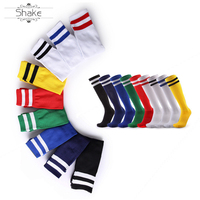 wholesale men's dress crew grip sports rubber anti slip knee high football socks compression soccer sport socks