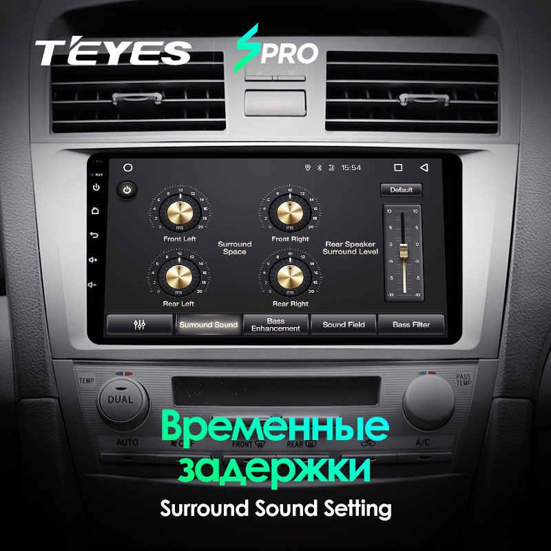 TEYES SPRO dla Toyota Camry 6 XV 40 50 2006-2011 radioodtwarzacz samochodowy multimedialny odtwarzacz wideo nawigacja gps Android 8.1 nie 2din 2 din