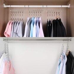 Wonder Magic Hangers Metalen Ruimtebesparende Hangers 8 Pack  Kast Ruimtebesparend Garderobe Kleding Hanger Organizer  bijgewerkt Ontwerp (8P Droogrekken    -