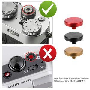Image 3 - Fujifilm xt10/xt20/xt30/xt3/xt2/x30/x20/X PRO2/x100f/x100/xe3/X E2S 용 볼록 표면 금속 소프트 카메라 셔터 릴리즈 버튼