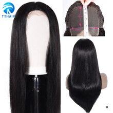 TTHAIR 4X4 Lace Closure Wig Straight Human Hair