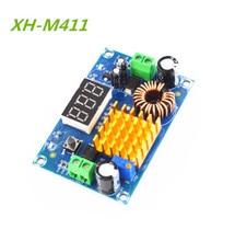 XH M411 DC 3V 35V DC 5V 45V Boost dönüştürücü modülü voltaj regülatörü ayarlanabilir step Up voltmetre dijital ekran modülü