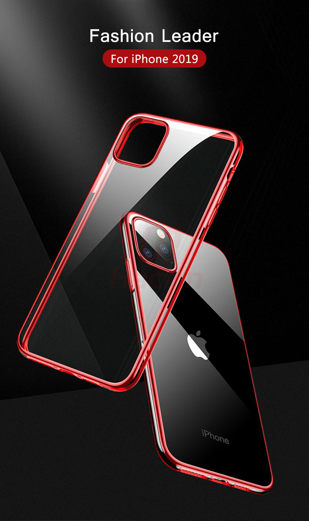 Hacrin Transparent TPU Silicone Case for iPhone 11/11 Pro/11 Pro Max 29