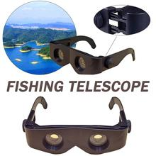 Fishing Binoculars Portable Fishing Telescope 6x Zoom Magnifier Telescope Night Vision Outdoor Binocular for Fishing Hunting wildgameplus wg500b 1080p hd night vision binoculars optical 10 8x31 zoom digital night vision binocular hunting telescope night