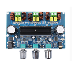 Image 1 - XH A305 Bluetooth 5.0 Audio Stereo Digital Power Amplifier Board TPA3116D2 50Wx2+100W 2.1 Channel Bass Subwoofer AMP Module