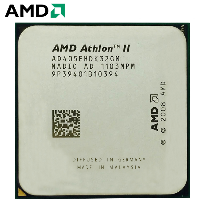AMD Athlon II X3 405e CPU Processor 2.3GHz Energy Efficient 2.3 GHz Triple-Core AD405EHDK32GI/AD405EHDK32GM TDP 45W Socket AM3