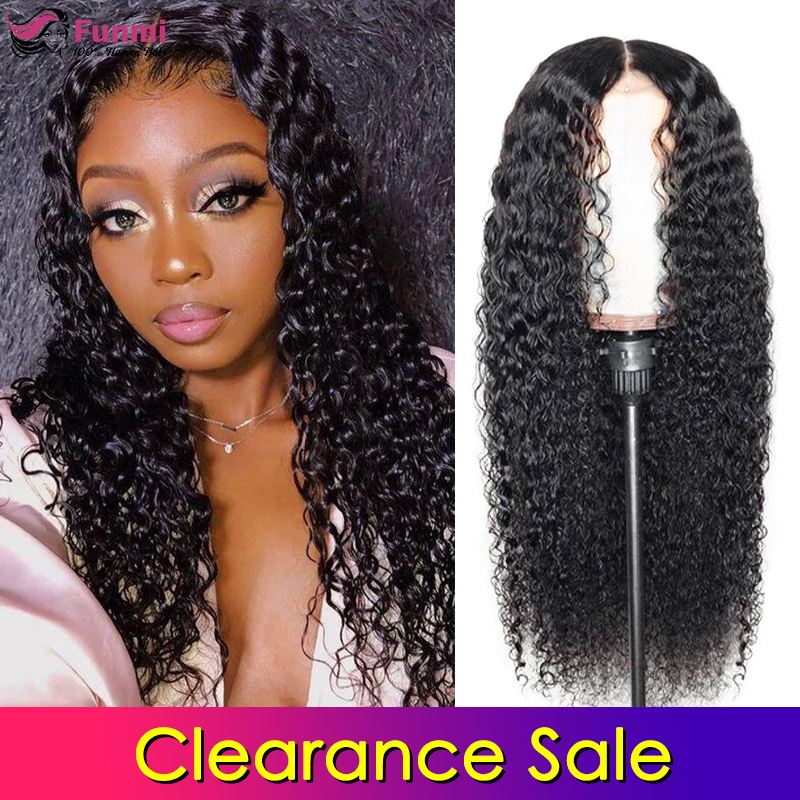 Clearance Sale Lace Front Human Hair Wigs Curly Pre Plucked Hairline Baby Hair Brazlian Remy Human Hair Lace Closure Wigs