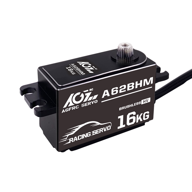 AGF A62BHM brand new high precision dual ball bearing low profile brushless programmable digital servo for rc boat - 5
