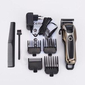 Image 2 - Kemei машинка для стрижки волос KM2600 электрический триммер для волос мощная машинка для бритья волос профессиональная машинка для стрижки волос электрическая бритва для бороды 5