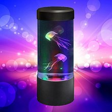 Large jellyfish lamp LED color changing home decoration night light Jellyfish Aquarium Style Led Lamp cheap ICOCO Atmosphere