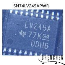 10 pçs/lote SN74LV245APWR LV245A TSSOP-20 100% Original Novo