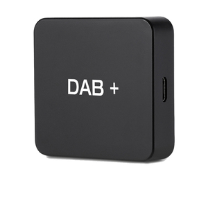 Image 1 - DAB 004 DAB + kutusu dijital radyo anteni Tuner için araba radyo Android 5.1 ve üzeri FM iletimi USB Powered