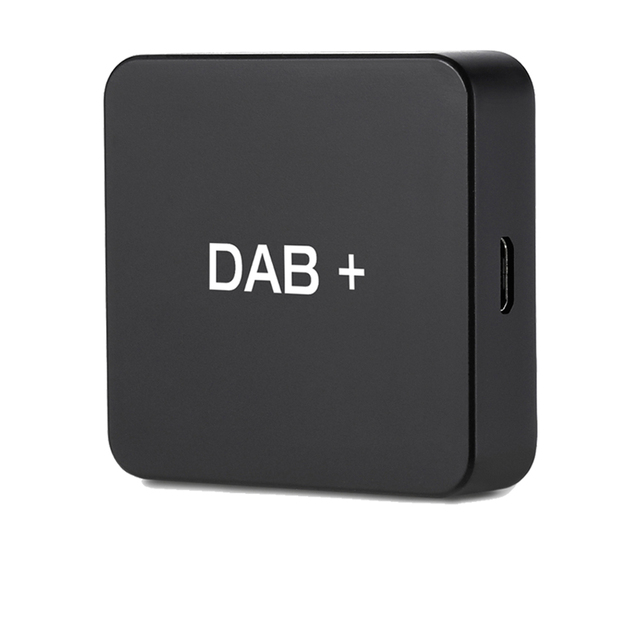 DAB 004 DAB + kutusu dijital radyo anteni Tuner için araba radyo Android 5.1 ve üzeri FM iletimi USB Powered