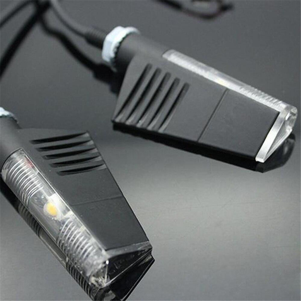 Universal Motorcycle Turn Signal Lights For Rizoma LED Indicator Light Motorcross Turn Lights Blinker Flasher Lamp 12V 8mm 2020