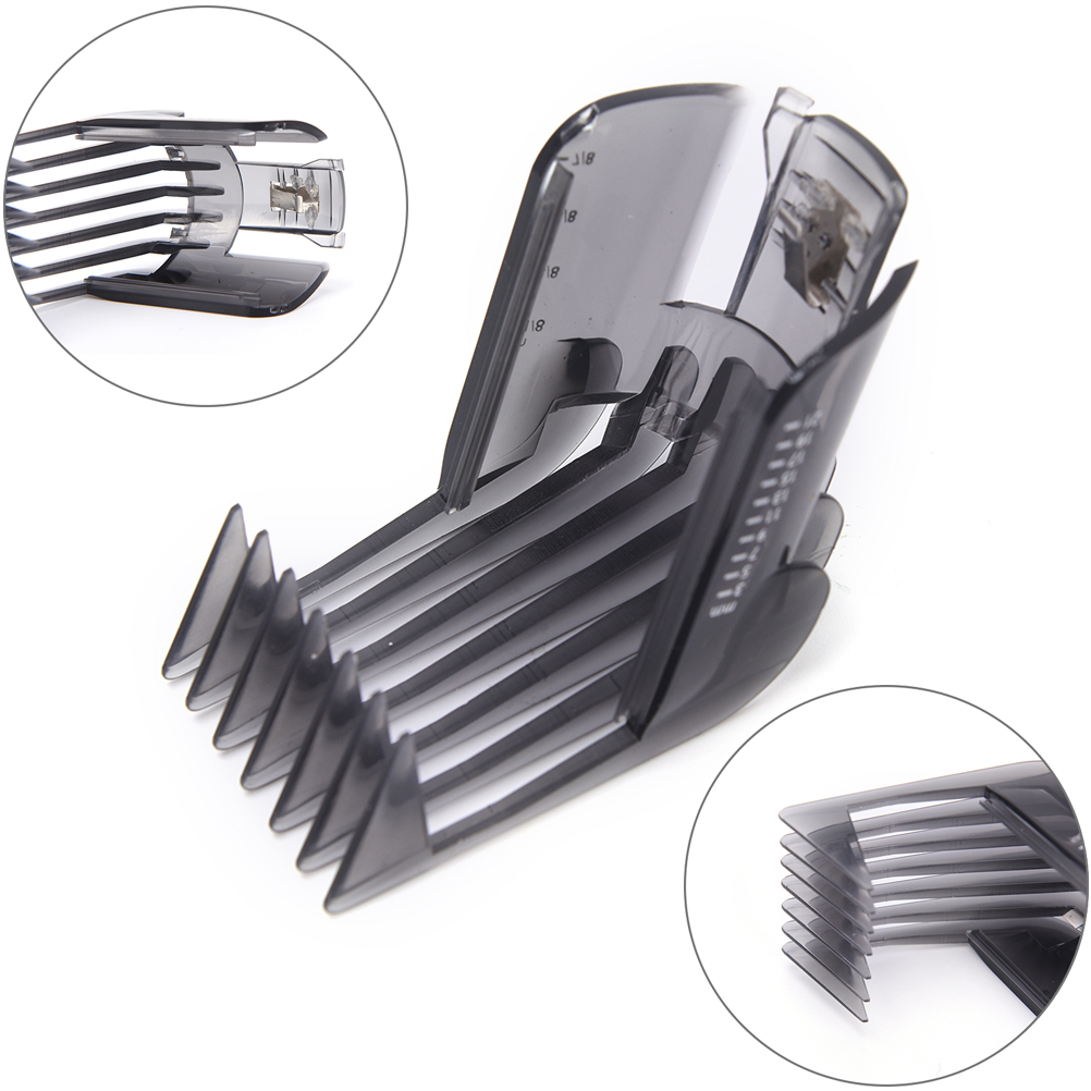1PCS Black Hair Clippers Beard Trimmer Comb Attachment For Philips QC5130 QC5105 QC5115 QC5120 QC5125 QC5135