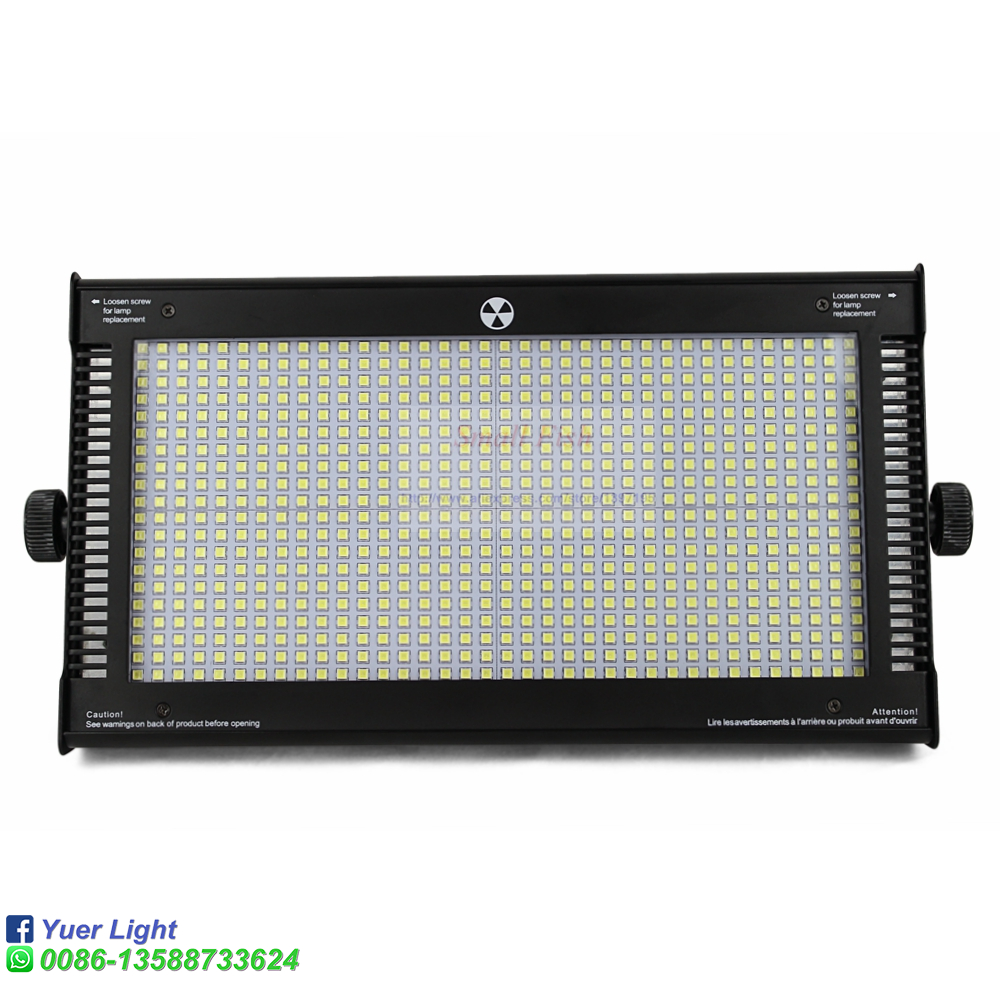 High power 800W led rgbw strobe light with dmx512 led wash stage lighting for ktv bar disco aluminum housing 3 pin XLR connect - 2