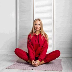 Atoff home suit to 97 (red/Red + Black)