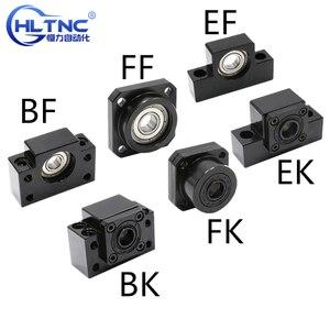 Image 1 - linear bearing block  BKBF10 BKBF12 BKBF15 BKBF20 BKBF25 EKEF12 EKEF15 EKEF20 FKFF10 FKFF12 FKFF15 FKFF20 for ball screw sfu1605