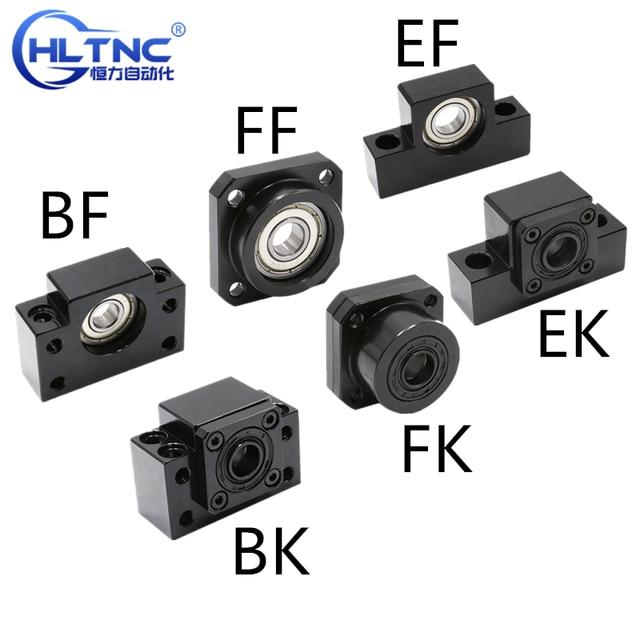linear bearing block  BKBF10 BKBF12 BKBF15 BKBF20 BKBF25 EKEF12 EKEF15 EKEF20 FKFF10 FKFF12 FKFF15 FKFF20 for ball screw sfu1605