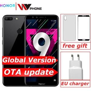 "Image 1 - Global versie Honor 9 Lite 3G 32G 5.65 ""Octa Core 2160*1080P Mobiele Telefoon 4 * camera 3000mAh Vingerafdruk ID"