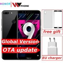 "Global version Honor 9 Lite 3G 32G 5.65 ""Octa Core 2160*1080P โทรศัพท์มือถือ 4 * กล้อง 3000mAh ID ลายนิ้วมือ"
