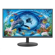 19Inch PC Monitor Lcd Display HD Desktop Gaming Gamer Computer Screen Flat Panel Desktop Computer Monitor Monitoring Game Screen