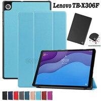 Funda con tapa para tableta Lenovo Tab M10 Hd (2ª generación), 10,1 '', 2020 Tb-x306, Tb-x306f, Tb-x306x, Fundas protectoras con soporte