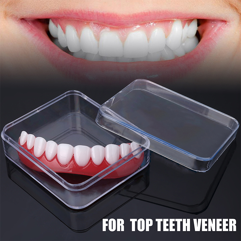 PP Smile Teeth Veneer Perfect Top Teeth Veneer Snap Top Veneers Instant Cosmetic Teeth Cover Whitening Braces