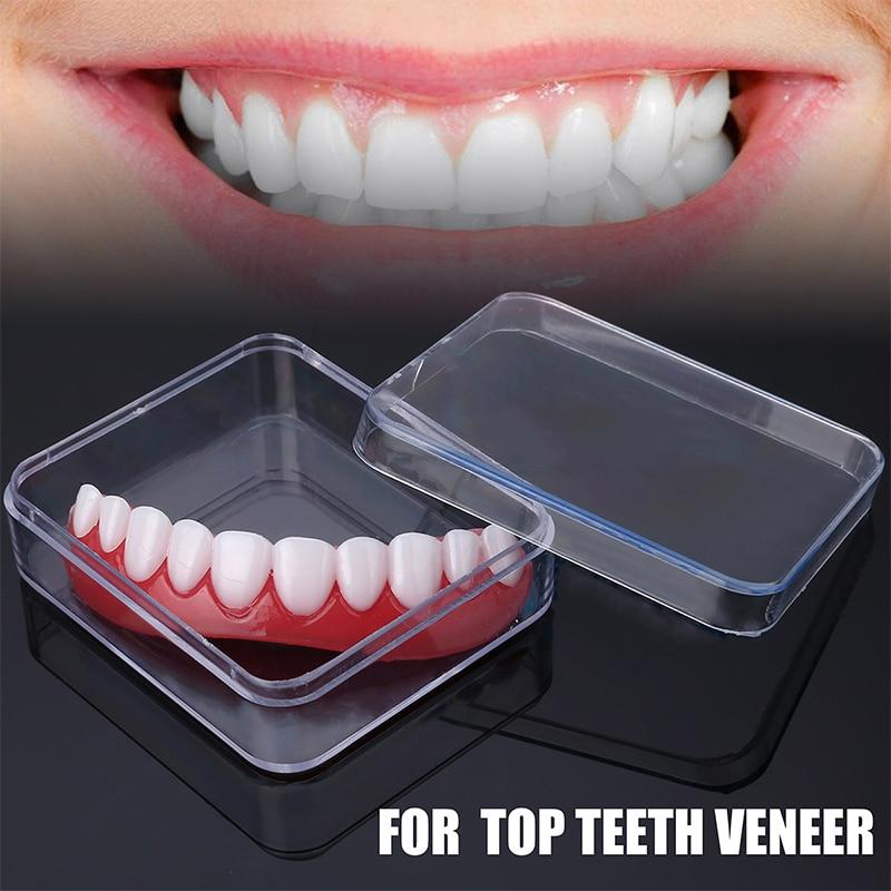 PP Smile Teeth Veneer Perfect Top Teeth Veneer Snap Top Veneers Instant Cosmetic Teeth Cover Whitening Braces
