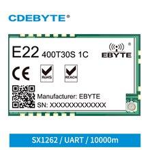 Mini SX1262 GFSK/LoRa RF Module SMD 400/900MHz 30dBm E22-400T30S1C UART IPEX/Stamp Hole Antenna Fixed Wireless Terminal IoT