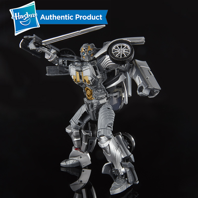 Hasbro Transformers Toys Studio Series 39 Deluxe Class Transformers movie universe Last Knight Movie Cogman Action in Action Toy Figures from Toys Hobbies