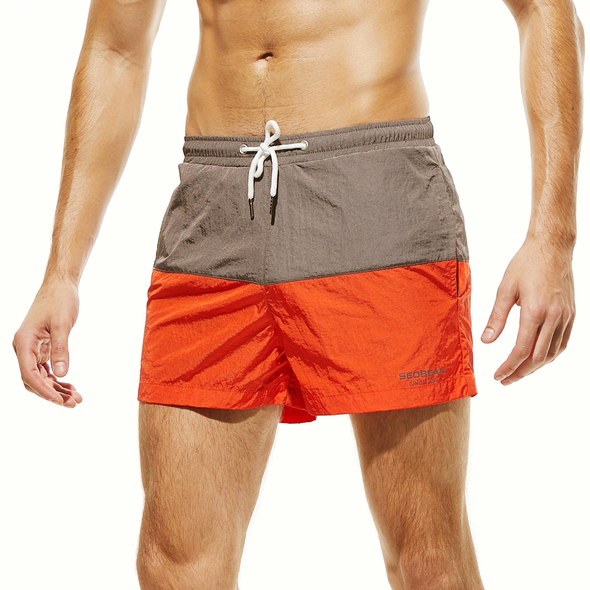 Clearance SaleïBermuda Shorts Swimsuit Surf Sport Gym Man Men Quick-Dry Men's New-Brand