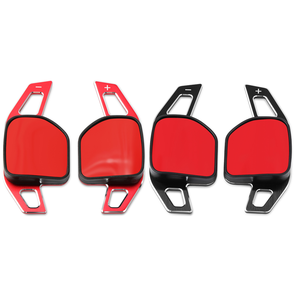 Image 3 - Car Steering Wheel DSG Paddle Extension Shifters Shift Sticker Decoration Fit For Seat Alhambra /Ateca /Leon FR/ Leon /Leon 4 5F-in Car Stickers from Automobiles & Motorcycles