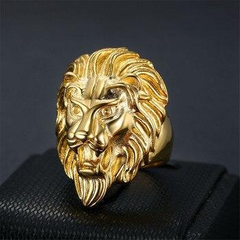Bague lion gitan