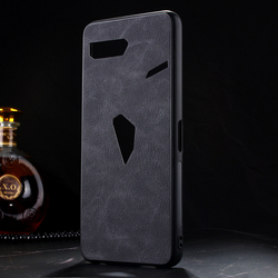 На Алиэкспресс купить чехол для смартфона soft tpu case and sheep pu leather cover for asus rog phone ii(zs660kl) rog2