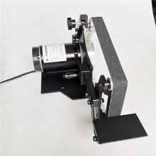 Wielofunkcyjna maszyna taśmowa szlifierka stołowa klasy przemysłowej. Ostrzenie ostrza domowego stała szlifierka kątowa