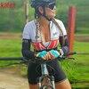 Cafete novo terno de ciclismo triathlon profissional das mulheres corrida equipe jérsei macacão manga longa apertado ciclismo terno 9